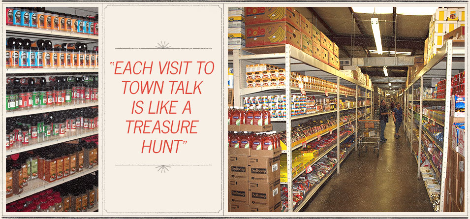 Each Visit to Town Talk is Like a Treasure Hunt